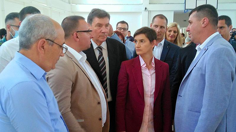 Ana Brnabić u Vlasotincu: Tehnička škola će postati jedan od 12 regionalnih trening centara u Srbiji