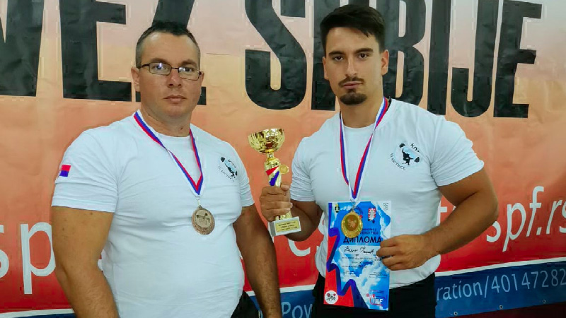 Veljko Pešić iz Vlasotinca peti put za redom šampion Srbije u Bench presu