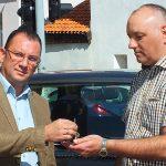 HSV donirao vozilo Lada niva Policijskoj stanici Vlasotince.